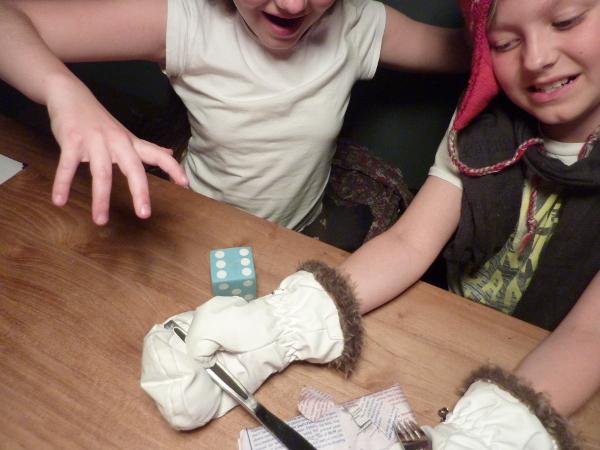 schokolade wettessen - kindergeburtstag spiele